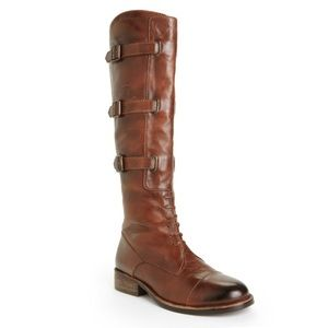 Vince Camuto Fivvy Buckle Riding Boot. Sz10
